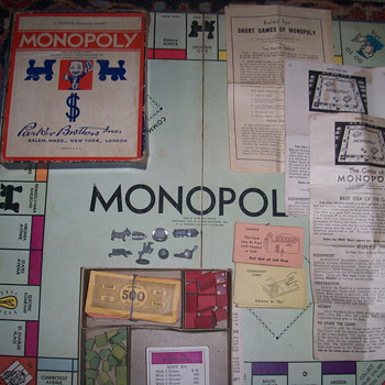 1935 monopoly game - Games