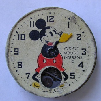 Remodel Job of  the #1 Mickey watch - Wristwatches