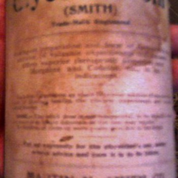Another old medicine bottle to collect info on - Bottles