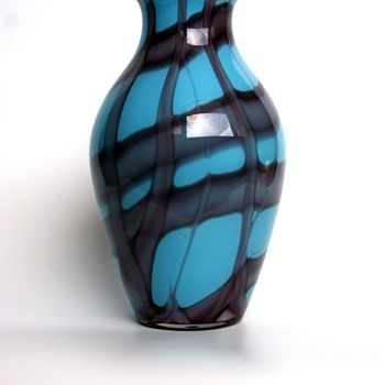Kralik Webbed Vase - Art Glass