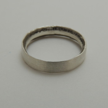 Silver Coin Ring - Fine Jewelry