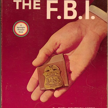 1965 The Story of the F.B.I. - Books