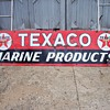 large Texaco gas station sign 25&quot;by8ft