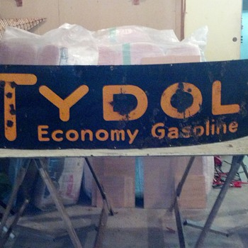 found another TYDOL sign  - Petroliana