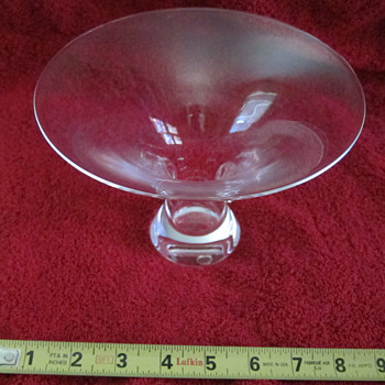 Steuben Thumbprint Vases