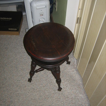 George Archer piano stool  - Furniture
