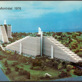 "1976 - Montreal ""Olympic Village"" Postcard"