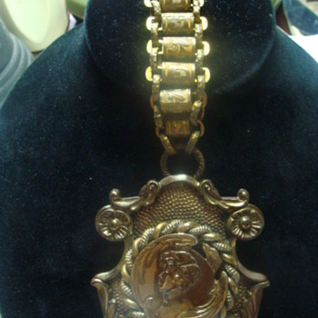 Ancien Broche Argent Aiglon Napoleon Bernhardt - Victorian Era