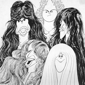 Aerosmith - Draw the Line Album - Music