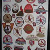Custom made St Louis Cardinal Patch display
