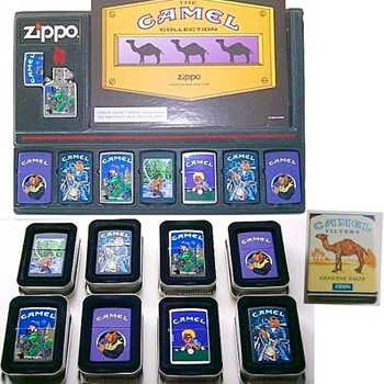 Outlawed...Joe Camel Zippo collection