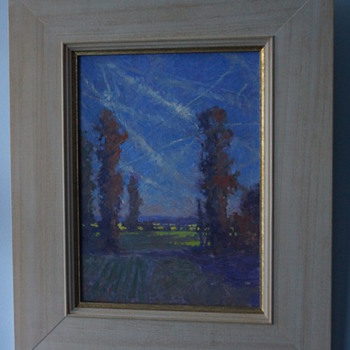 Oliver Warman - Countryside Oil Painting