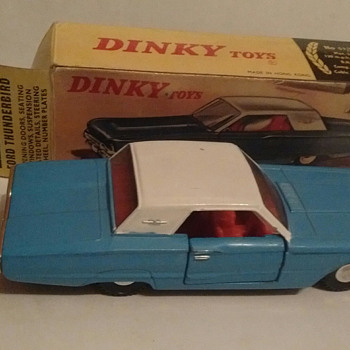 """Dinky"" Ford Thunderbird !!!!! - Model Cars"