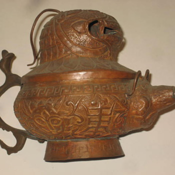 Old Teapot from China Tibet