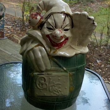 Creepy McCoy Cookie Jar!