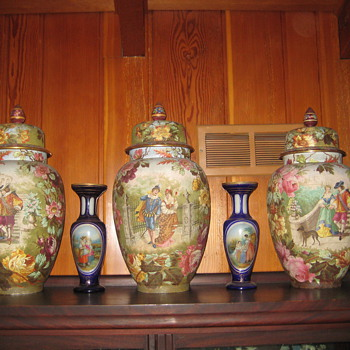large urns?/vases - Art Pottery