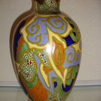 breetveld vase 20s zuid holland - Art Pottery