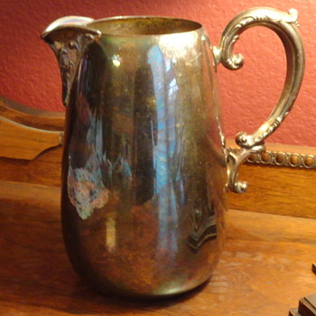 Forbes? Silver Pitcher - Sterling Silver