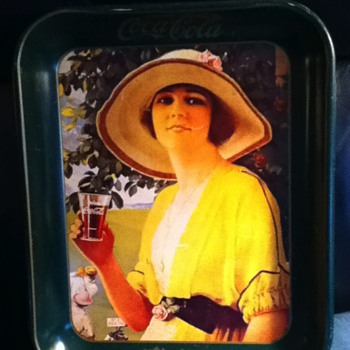 more vintage Coke trays - Coca-Cola