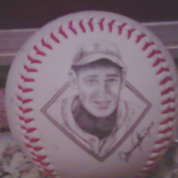 Ted Williams Photo baseball - Baseball