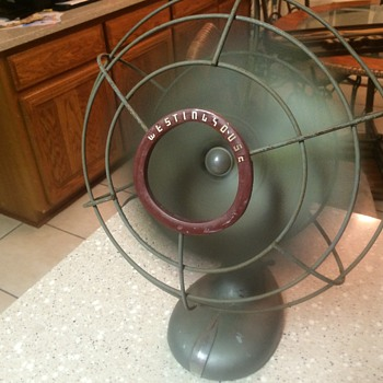 Westinghouse oscillating 2 speed fan
