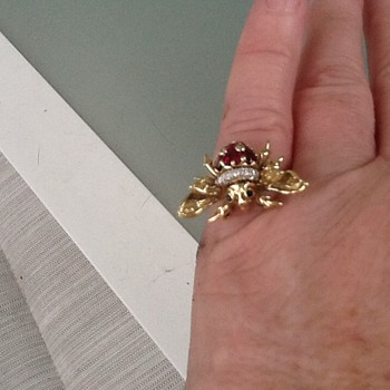 Bee ring - Fine Jewelry