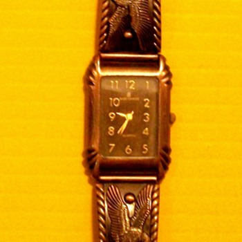 MARIE LOURDES BRONZE WATCH  - Wristwatches
