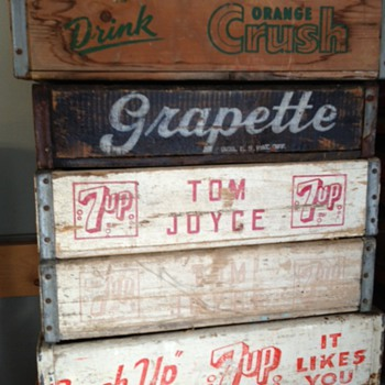 Grapette Crate - Advertising