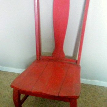 Antique Cooking Chair