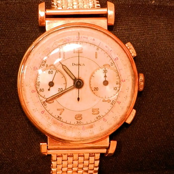 Rare 14k gold Doxa found in GrandPa's attic - Value unknown - Wristwatches