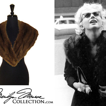 Marilyn Monroe&#039;s Personal Mink Fur Collar - Accessories