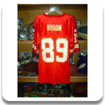 1989 Rison KC Cheifs Jersey - Football