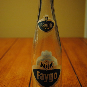 60's (?) Faygo Bottle