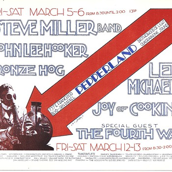 Steve Miller and John Lee Hooker at Pepperland, 1971 - Posters and Prints