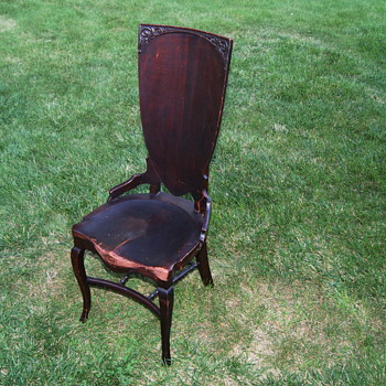 My Stomps Burkhardt Mystery Chair