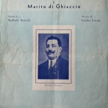 &quot;Mogle di Fuoco&quot; Sheet Music - Paper