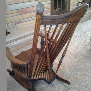 Very large rocking chair