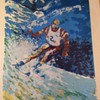 Skier 260/350 - can't make out artist