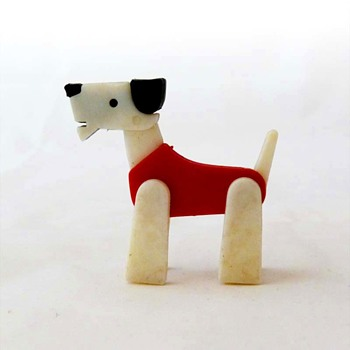 Plastic dog toy (ca. 1960)