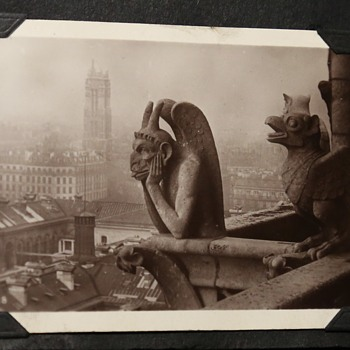 Souvenir of Paris - Early Photo Scrapbook with BEAUTIFUL Shots!