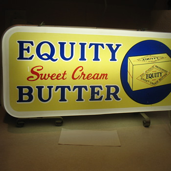 Equity Butter - Signs