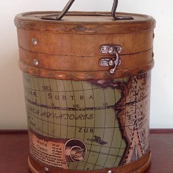 Vintage wooden bag