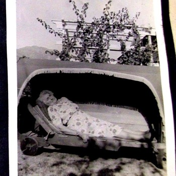 POST MORTEM PHOTO--REALLY FREAKS ME OUT!  WHAT IS SHE IN!!