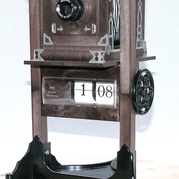 Asanuma Studio Camera Clock.| Novelty model camera. - Cameras