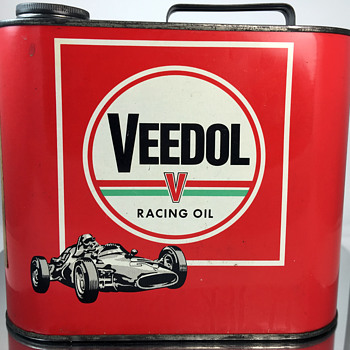 Veedol (European) Racing Oil - Can - Petroliana