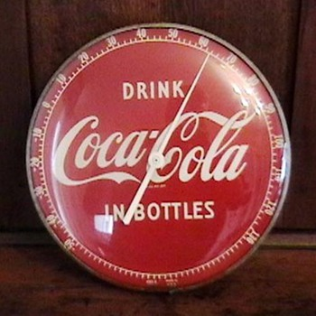 Original 1950s Coca-Cola Thermometer