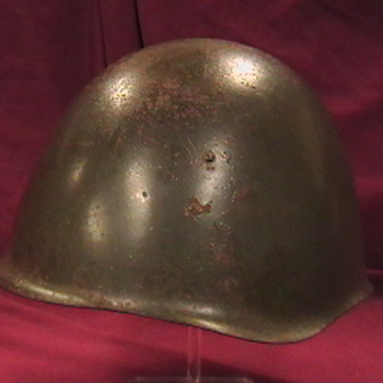 NVA Anti Aircraft Gunners Steel Helmet - Military and Wartime