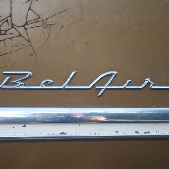 55 Chevy Bel Air Side Panel - Classic Cars