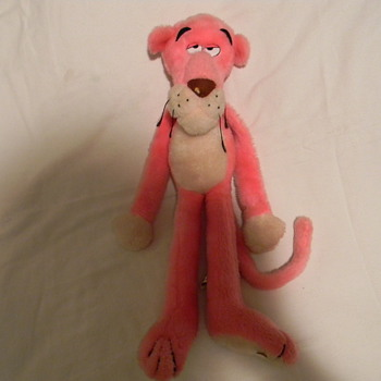 The pink Panther Strikes Again plush toy or movie promo item. - Movies