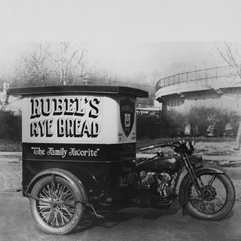 Rubel Rye Delivery Harley - Photographs